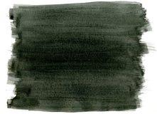 Fondo negro de la pintura. Foto de archivo