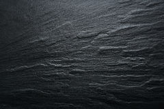 Fondo negro de la textura de la pizarra - piedra - textura del Grunge Fotografía de archivo libre de regalías