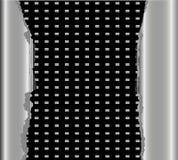 Fondo negro de la textura del metal ilustración del vector