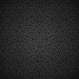 Fondo negro de la vendimia ilustración del vector