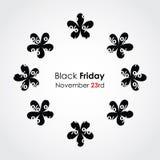 Fondo negro de viernes Foto de archivo libre de regalías