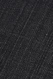 Fondo negro del dril de algodón Imagen de archivo