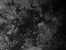 Fondo negro del grunge Fotografía de archivo