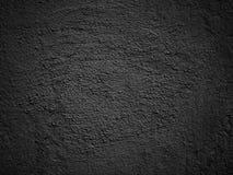 Fondo negro del grunge de la textura de la pared Fotografía de archivo libre de regalías