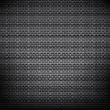 Fondo negro del metal Fotografía de archivo