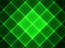 Fondo negro en una jaula verde Imagen de archivo libre de regalías