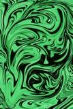 Fondo negro verde Fotografía de archivo