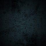 Fondo negro y azul del Grunge Imagen de archivo libre de regalías