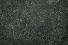 Fondo nero concreto di struttura Fotografia Stock