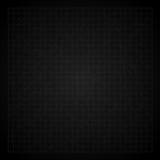 Fondo nero d'annata della carta millimetrata Fotografie Stock Libere da Diritti