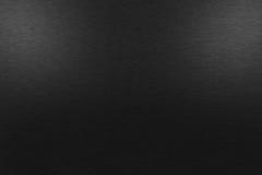 Fondo nero del metallo con due luci superiori Fotografie Stock Libere da Diritti