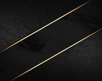 Fondo nero del velluto con la banda nera Elemento per progettazione su fondo nero Mascherina per il disegno copi lo spazio per l' Immagini Stock