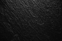 Fondo nero dell'estratto della pietra della roccia, fondo di alta risoluzione della natura per il blackdrop di progettazione o so immagini stock