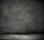Fondo nero della parete fotografie stock libere da diritti