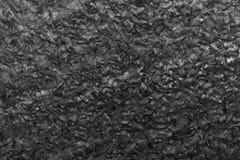Fondo nero della superficie della pietra del granito Fotografia Stock Libera da Diritti
