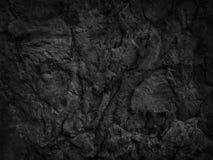 Fondo nero grigio scuro dell'ardesia Fotografia Stock Libera da Diritti