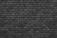 Fondo nero grigio scuro di struttura del muro di mattoni fotografia stock libera da diritti
