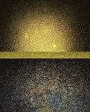 Fondo nero ricco astratto Elemento per progettazione Mascherina per il disegno Fotografia Stock