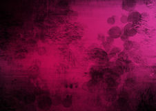 Fondo nero rosa dell'estratto di lerciume Immagine Stock Libera da Diritti