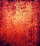 Fondo nero rosso astratto di lerciume Immagine Stock