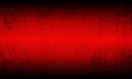 Fondo nero rosso di lerciume Fotografie Stock Libere da Diritti