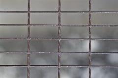Fondo neto del hierro foto de archivo libre de regalías