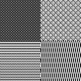 Fondo neutrale astratto monocromatico del pixel Fotografie Stock