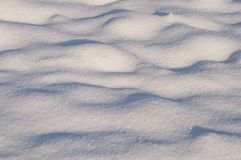 Fondo nevoso brillante al sole Fotografie Stock