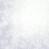 Fondo nuvoloso di giorno piovoso Fotografia Stock