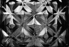 Fondo o detalle abstracto de la textura del vidrio de la pared, Foto de archivo libre de regalías