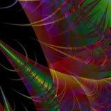 Fondo o papel pintado abstracto futurista Fotografía de archivo libre de regalías
