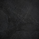 Fondo o struttura dell'ardesia del nero scuro Immagine Stock
