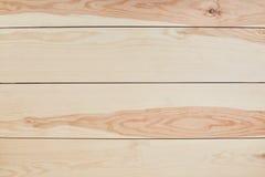 Fondo o struttura di legno Superficie di legno marrone chiaro del fondo di struttura Vista del piano d'appoggio Parete di legno d Immagini Stock Libere da Diritti
