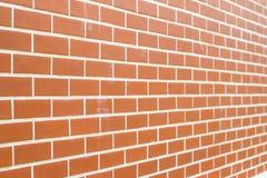Fondo o struttura rosso del muro di mattoni Fotografia Stock Libera da Diritti