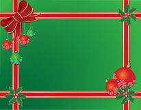 Fondo o tarjeta de la Navidad Imágenes de archivo libres de regalías