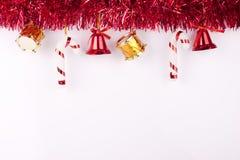 Fondo o tarjeta de la Navidad Fotografía de archivo libre de regalías