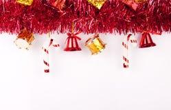 Fondo o tarjeta de la Navidad Imagen de archivo libre de regalías