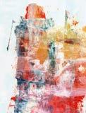 Técnicas mixtas abstractas fondo o textura Foto de archivo libre de regalías