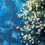 Fondo o textura azul marino Fotografía de archivo