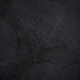 Fondo o textura de la pizarra del negro oscuro Imagen de archivo