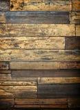 Fondo o textura de madera de la pared Imagen de archivo