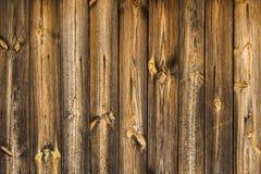 Fondo o textura de madera de la pared Fotos de archivo libres de regalías