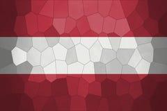 Fondo o textura de Mozaic con la mezcla de la bandera de Austria Imagenes de archivo
