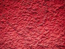 Fondo o textura rojo de la pared de la pintura del grano Imagen de archivo