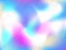 Fondo olografico strutturato multicolore dell'estratto del fondo illustrazione di stock