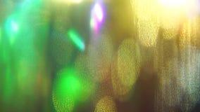 fondo olografico vago di classico vibrante colorato Multi video d archivio
