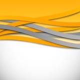 Fondo ondulado abstracto del diseño stock de ilustración