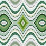 Fondo ondulado abstracto inconsútil del vector Foto de archivo libre de regalías