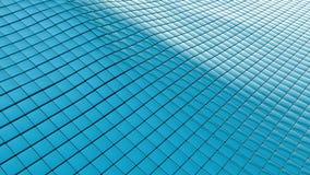 Fondo ondulado azul Foto de archivo