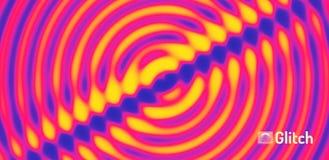 fondo ondulado 3D con efecto dominó ejemplo abstracto del vector Modelo del diseño ilustración del vector